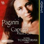 Sonig Tchakerian- 24 Capricci Op. 1 For Solo Violin
