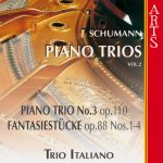 Trio Italiano- Robert Schumann : Piano Trios Vol. 2